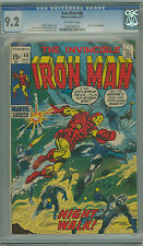 IRON MAN 40 CGC 9.2 WHITE P CENTERED NICK FURY APPEXCEPTIONALLY NICE
