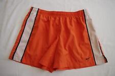 Womens Nike Shorts Small Orange Running Athletic Yoga Exercise