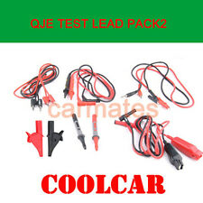 Multimeter test lead Set probe Alligator clip for Fluke Meter Victor LED Light