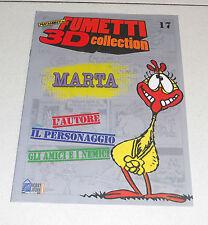 Fascicolo Fumetti 3D Collection 17 MARTA Silver Lupo Alberto Hobby & Work 2011