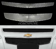 08-12 Chevy MALIBU CHROME Snap On Grille Overlay Grill Cover Front Trim Insert