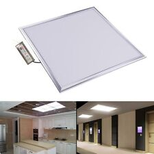 48W Square LED Recessed Ceiling Panel Down Lights Home Office  Bulbs Cool White