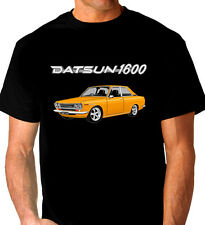 DATSUN  1600    SSS  510  COUPE     BLACK  T-SHIRT  TOP QUALITY