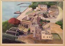 Simon Stein Jaffa Jewish Painting Israeli Jerusalem Art Israelianna