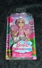 2016 BARBIE DREAMTOPIA SMALL PINK FAIRY DOLL WITH CUPCAKE DVM88