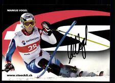 Markus Vogel Autogrammkarte Original Signiert Skiapline + A 107389