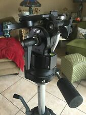 BOGEN MANFROTTO PROFESSIOINAL 3068 TRIPOD WITH 3063 FLUID HEAD 138 BALL ITALY