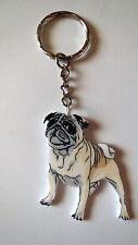 Mops PUG DOG  Schlüsselanhänger keychain-AC2 - NEU!
