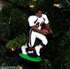 shannon SHARPE denver BRONCOS nfl FOOTBALL xmas TREE ornament HOLIDAY vtg JERSEY