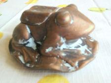 Schlüsselversteck Frosch - für den Garten - wie mit echter Patina - Neu