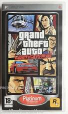 jeu GTA GRAN THEFT AUTO LIBERTY CITY STORIES sony PSP francais game spel COMPLET