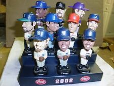 Post Cereal Bobble Heads SET OF OF 10 WITH STAND