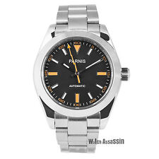 Parnis Explorer Miyota automatic bracelet mens watch. UK Seller, Expr deliv!
