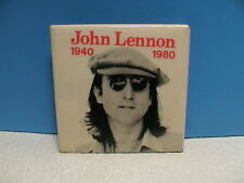BEATLES JOHN LENNON ROCK N ROLL BAND PICTORIAL WITH HAT 1940-1980 PIN PINBACK