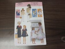Vogue Craft #9964 Pattern for Vintage Wardrobe for BARBIE DOLL CLOTHES, UnCut
