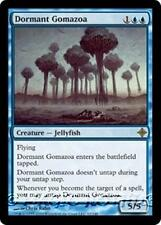 DORMANT GOMAZOA Rise of the Eldrazi MTG Blue Creature — Jellyfish RARE
