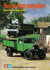 Bedford Commercial vehicles since 1931 Pub Vauxhall Motors Vans Trucks Buses +