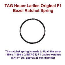 TAG Heuer Fórmula 1 para mujer de trinquete de bisel de plástico 25mm F1 WA1410 WA1411 etc.