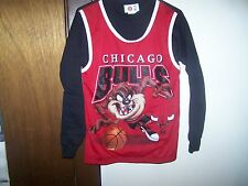 """Vintage CHICAGO BULLS BASKETBALL MESH JERSEY TAZ TAZMANIAN DEVIL-YOUTH XL 16-18"