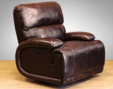 Barcalounger Hudson II POWER Casual Comfort Recliner Chair Vermont BART Leather