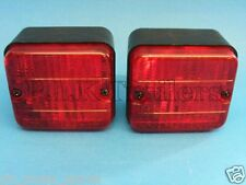 FREE P&P* 2 x AJBA Rear Fog Lamp Light 12v FR20 Erde & Daxara Trailer