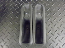 2005 RENAULT MEGANE SCENIC 1.6 PAIR OF REAR WINDOW SWITCHES 156013870