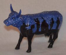 COW FIGURINE - COW PARADE  - #9185 - JAZZY COW - 2001   (4)
