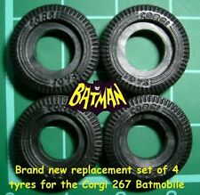 267 Corgi Batmobile Tyres (NEW)