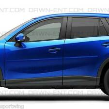 For: MAZDA CX5; PAINTED Body Side Moldings Mouldings Trim 2013-2017
