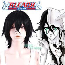 Bleach Ulquiorra Schiffer Short Black Cosplay Hair Wig