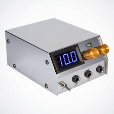NEW Premium LCD Digital Dual Power Supply Unit for Liner Shader Tattoo Machines