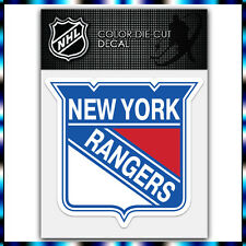 "New York Rangers NHL Die Cut Vinyl Sticker Car Bumper Window 3.7""x4"""