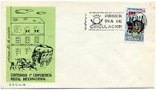 Spain 1963 Paris Postal Conference Centenary First Day Cover