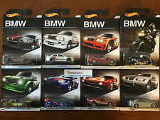 2016 Hot Wheels * BMW 100th Anniversary Set * Complete Set of 8 Cars