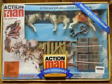 ACTION MAN - 40th EXPLORER SLEDGE & DOG TEAM - BOXED