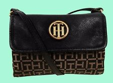 TOMMY  HILFIGER Signature Jacquard Cross-Body Bag Msrp $108