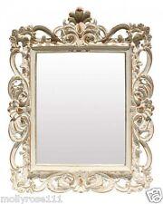 Square Antique Style Grand Trianon Shabby Decorative Ornate Wall Glass Mirror