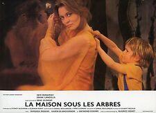 FAYE DUNAWAY LA MAISON SOUS LES ARBRES 1971 VINTAGE PHOTO LOBBY CARD N°6