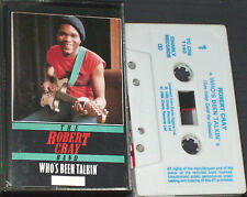 Robert Cray Band Who's Been Talkin' CASSETTE Charly R&B  TC CRB 1140 Remastered