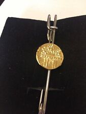 """Aureus Of Cladius Coin WC31 Scarf Brooch and Kilt Pin Pewter 3"""" 7.5 cm"""