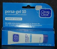 Clean & Clear Persa-Gel 10 Maximum Strength Acne Free Worldwide Shipping