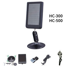 New HC-500 HC-300 Trail Scouting Hunting Camera Solar Panel Charger Power Supply