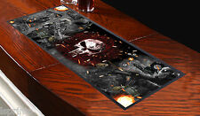 GAMERS DESIGN BAR RUNNER L&S PRINTS IDEAL FOR PUBS CLUBS PARTIES SKULL FIRE ARM