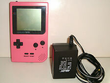 ANCIENNE NINTENDO GAME  BOY POCKET ROSE GBA PINK