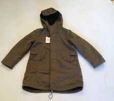 CP BOYS HOODED PARKER KHAKI AGE 8 RRP £429 £199.50