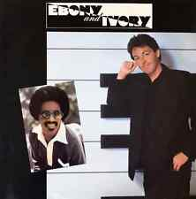 "PAUL MCCARTNEY ‎FT STEVIE WONDER - Ebony And Ivory (7"") (G+/VG)"