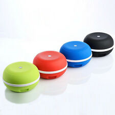 Small portable wireless Bluetooth stereo subwoofer TF FM Radio Outdoor Cycling