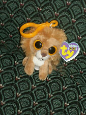 """Ty Beanie Boo 3"""" clip * KING * (Lion) Mint/Mint tag * RARE * 2011 Retired"""