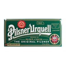PILSNER URQUELL CZECH BEER ADVERTISING TIN SIGN -01