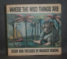 Where the Wild Things Are ~ MAURICE SENDAK  1963 TRUE FIRST EDITION